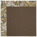 Capel Rugs Creative Concepts Java Sisal - Bahamian Breeze Ocean (420) Octagon 12