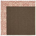 Capel Rugs Creative Concepts Java Sisal - Imogen Cherry (520) Octagon 12