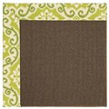Capel Rugs Creative Concepts Java Sisal - Shoreham Kiwi (220) Runner 2