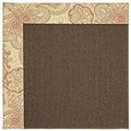 Capel Rugs Creative Concepts Java Sisal - Paddock Shawl Persimmon (810) Rectangle 3