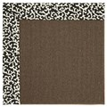 Capel Rugs Creative Concepts Java Sisal - Coral Cascade Ebony (385) Rectangle 5