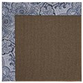 Capel Rugs Creative Concepts Java Sisal - Paddock Shawl Indigo (475) Rectangle 5