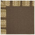 Capel Rugs Creative Concepts Java Sisal - Java Journey Chestnut (750) Rectangle 6
