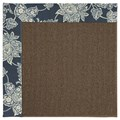 Capel Rugs Creative Concepts Java Sisal - Bandana Indigo Blue (465) Rectangle 7