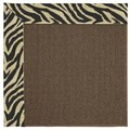 Capel Rugs Creative Concepts Java Sisal - Wild Thing Onyx (396) Rectangle 8