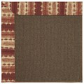 Capel Rugs Creative Concepts Java Sisal - Java Journey Henna (580) Rectangle 8
