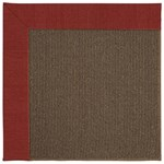 Capel Rugs Creative Concepts Java Sisal - Canvas Cherry (537) Rectangle 10' x 10' Area Rug