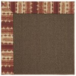 Capel Rugs Creative Concepts Java Sisal - Java Journey Henna (580) Rectangle 10' x 10' Area Rug