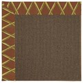 Capel Rugs Creative Concepts Java Sisal - Bamboo Cinnamon (856) Rectangle 10