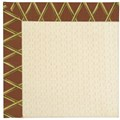 Capel Rugs Creative Concepts Sugar Mountain - Bamboo Cinnamon (856) Octagon 4