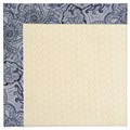 Capel Rugs Creative Concepts Sugar Mountain - Paddock Shawl Indigo (475) Octagon 6