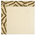 Capel Rugs Creative Concepts Sugar Mountain - Couture King Chestnut (756) Octagon 6