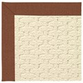 Capel Rugs Creative Concepts Sugar Mountain - Linen Chili (845) Octagon 10