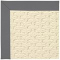 Capel Rugs Creative Concepts Sugar Mountain - Canvas Charcoal (355) Octagon 12