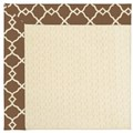 Capel Rugs Creative Concepts Sugar Mountain - Arden Chocolate (746) Octagon 12