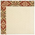Capel Rugs Creative Concepts Sugar Mountain - Shoreham Brick (800) Rectangle 8