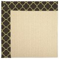 Capel Rugs Creative Concepts Beach Sisal - Canvas Antique Beige (717) Octagon 4