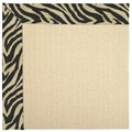 Capel Rugs Creative Concepts Beach Sisal - Wild Thing Onyx (396) Octagon 12
