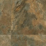 Armstrong Luxe FasTak: Lexington Slate Multicolor Luxury Vinyl Tile A6704