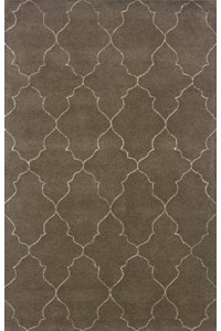 Shaw Living Arabesque Coventry (Polished Copper) Rectangle 7'9