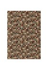 Shaw Living Concepts Flora Vista (Brown) Runner 1'11