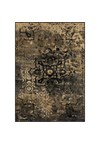 Shaw Living Kathy Ireland Home Gallery Garden Fantasy (Black) Runner 2'6