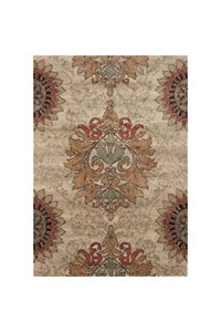 Shaw Living Arabesque Juliard (Cocoa) Rectangle 7'9