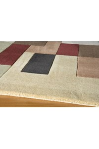 Shaw Living Renaissance Sienna (Dark Brown) Rectangle 6'6