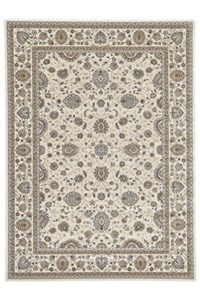 Shaw Living Kathy Ireland Home Essentials Sonnet Border (Natural) Rectangle 2'3
