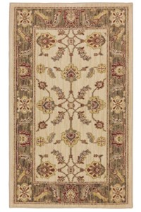 Nourison Collection Library Aspects (AP01-BUR) Rectangle 3'9