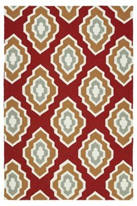 Nourison Signature Collection Heritage Hall (HE15-AQU) Rectangle 5'6