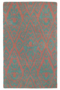 Nourison Collection Library Jaipur (JA29-RUS) Rectangle 3'9