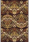 Nourison Collection Library Living Treasures (LI01-RUS) Rectangle 2'6
