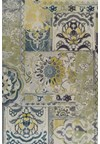 Nourison Collection Library Living Treasures (LI04-GRE) Rectangle 3'6