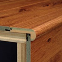 "Bruce Chelsea Park: Flush Stair Nose Island Koa - 47"" Long"