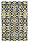 Nourison Collection Library Saffira (SA03-GLD) Rectangle 5'6