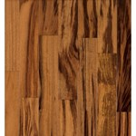 "Armstrong Valenza Collection (Engineered) Tigerwood: Natural 5/8"" x 3 1/2"" Engineered Tigerwood Hardwood TG422NAY"