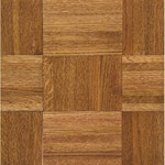 "Armstrong Urethane Parquet Oak: Honey 5/16"" x 12"" Solid Oak Hardwood 111140"
