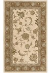 Capel Rugs Creative Concepts Cane Wicker - Paddock Shawl Persimmon (810) Octagon 4' x 4' Area Rug
