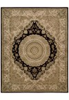Capel Rugs Creative Concepts Cane Wicker - Dupione Crimson (575) Octagon 6' x 6' Area Rug