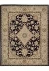 Capel Rugs Creative Concepts Cane Wicker - Bahamian Breeze Cinnamon (875) Octagon 6' x 6' Area Rug