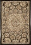 Capel Rugs Creative Concepts Cane Wicker - Canvas Citron (213) Octagon 10' x 10' Area Rug
