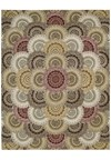 Capel Rugs Creative Concepts Cane Wicker - Canvas Navy (497) Octagon 10' x 10' Area Rug