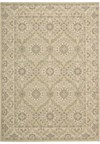 Capel Rugs Creative Concepts Cane Wicker - Coral Cascade Navy (450) Rectangle 3' x 5' Area Rug