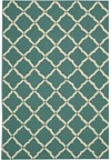 Capel Rugs Creative Concepts Cane Wicker - Canvas Melon (817) Rectangle 3' x 5' Area Rug
