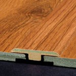 "Armstrong Premium Lustre:  T-Mold Blizzard Pine - 72"" Long"