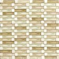 "Daltile Intertwine: Ripple 5/8"" x 2"" Glass Mosaic Tile F173-12BLENDMS1P"