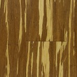 "USFloors Natural Bamboo Expressions Collection: Tiger 3/8"" x 3 3/4"" Locking Engineered Strand Woven Bamboo 609HFLWT"