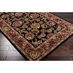 "Surya Ancient Treasures Jet Black (A-108) Rectangle 8'0"" x 11'0"""