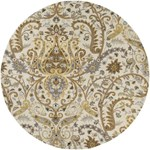 "Surya Ancient Treasures Oatmeal (A-165) Round 8'0"" x 8'0"""